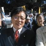 2018年11月3日憲法集会で井上さとし参院議員&とがし豊
