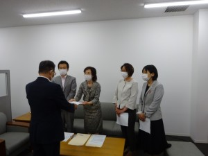 日本共産党京都市議団介護問題で申し入れ